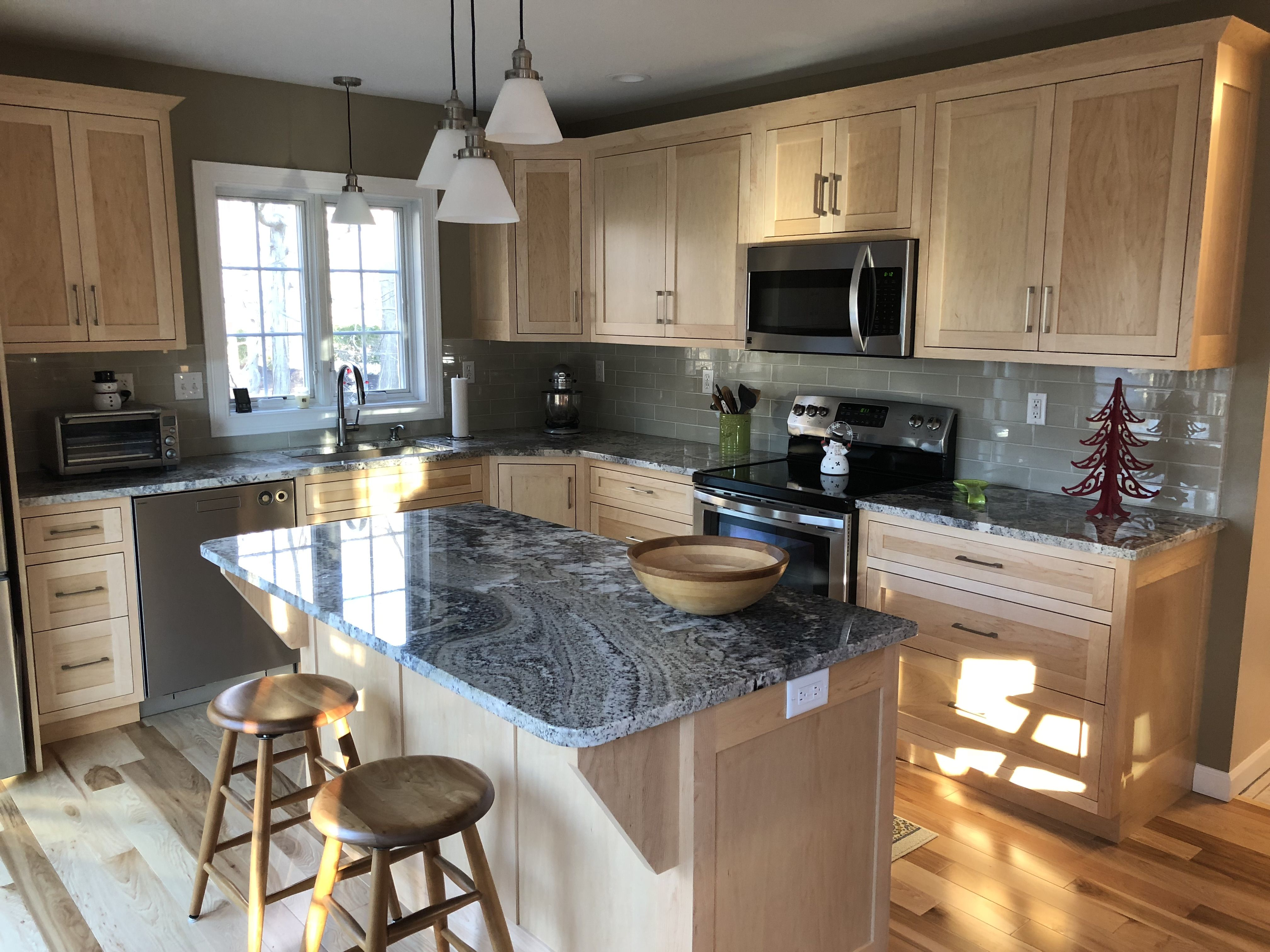 Natural maple cabinets | Maple cabinets, Kitchen, Home on Natural Maple Cabinets  id=93031