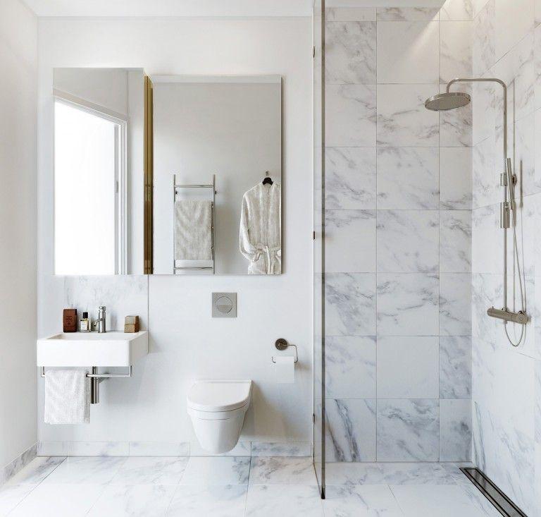 Bilder Bad Pinterest Badezimmer inspiration, Bäder und - badezimmer aufteilung neubau