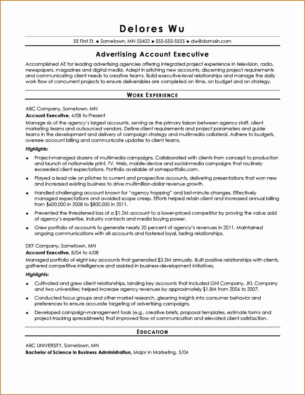 Advertising Contract Template Free in 2020 (With images