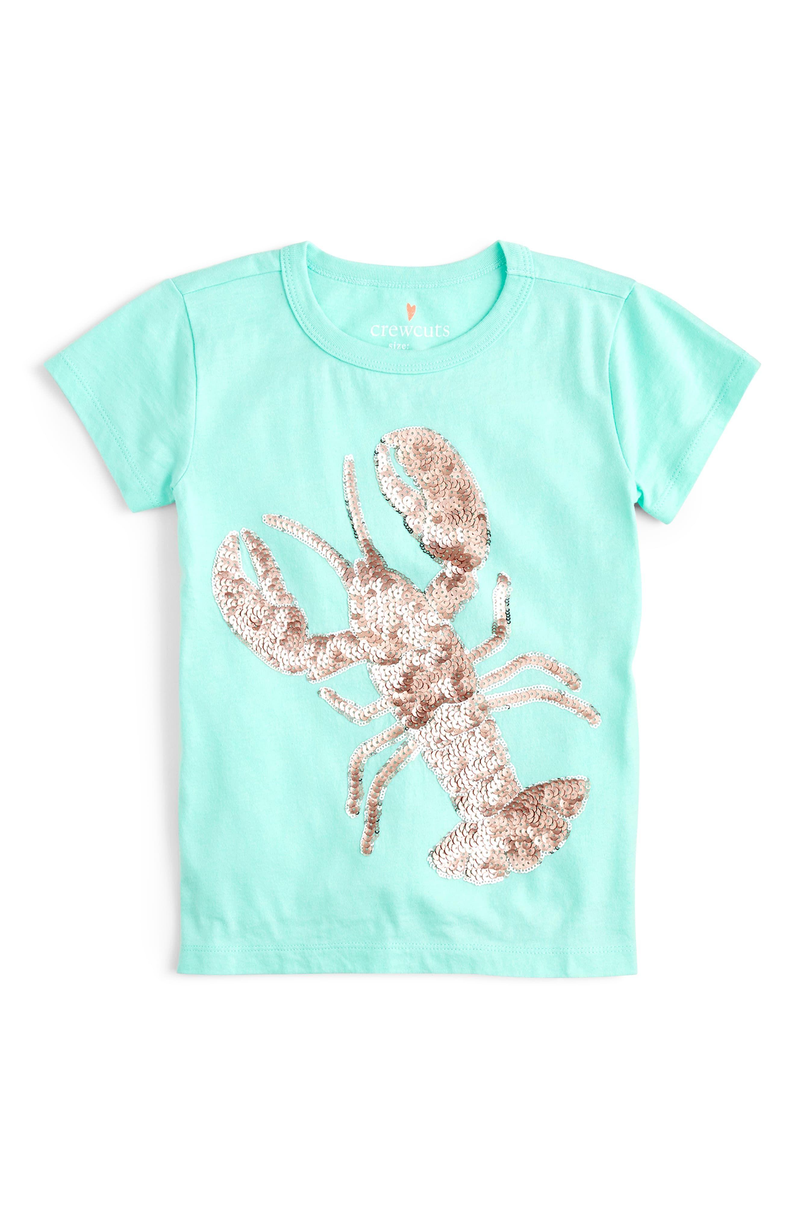 J By Jasper Conran Kids Boys/' Light Blue Lobster Stripe Swim Shorts