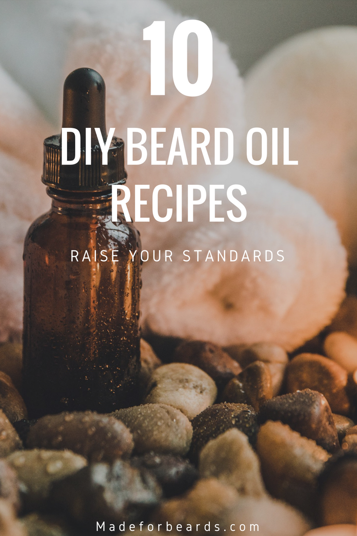 Nature S Heaven Beard Oil Ingredients 5 Ounces Of Jojoba Oil 8 Drops Of Cassis Essential Oil 8 Drops Of Ber Beard Oil Ingredients Beard Oil Beard Oil Recipe