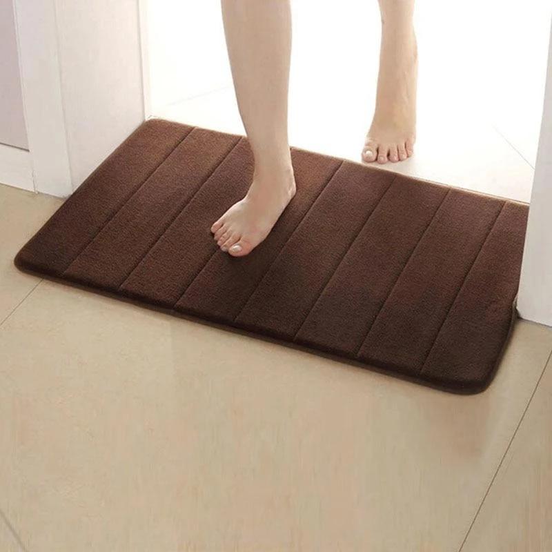 Memory Foam Bath Mats Rug Doormat Hallway Floor Decor In 2020