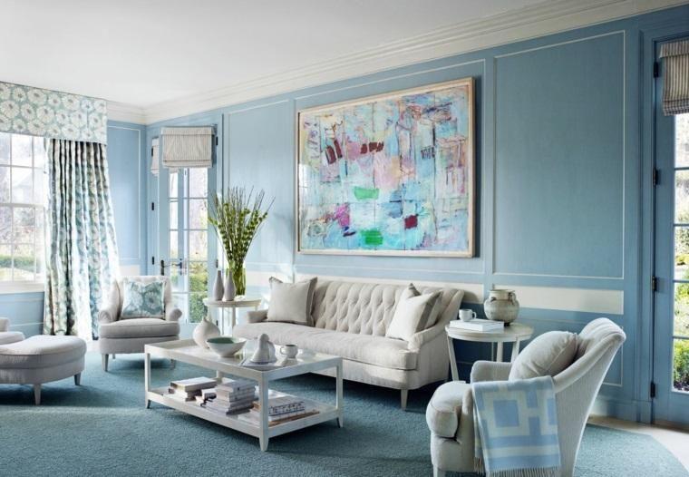 Interior Design Haus 2018 Blaue Farbe innen - Tipps zum Gebrauch und ...