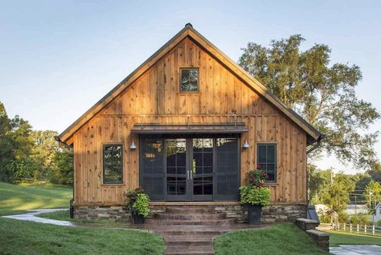 42 Favourite Log Cabin Homes Plans One Story Design Ideas 31 Home Decor Diy Design Rustic Barn Homes Barn Style House Barn House Kits