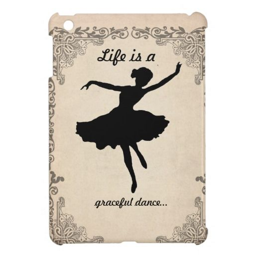 Vintage Ballerina iPad Mini Case