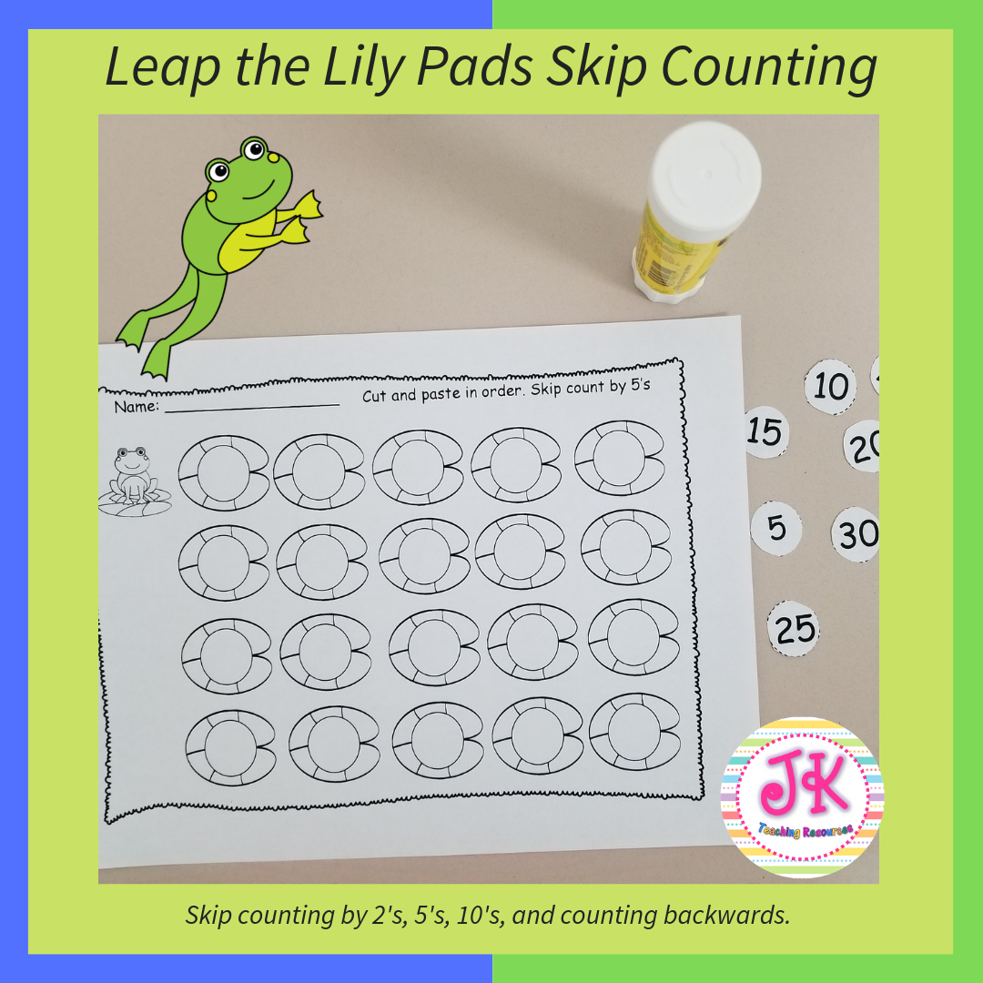 Skip Counting By 2 S 5 S 10 S Math Center Activities Teachers Pay Teachers Math Special Education Students [ 1080 x 1080 Pixel ]