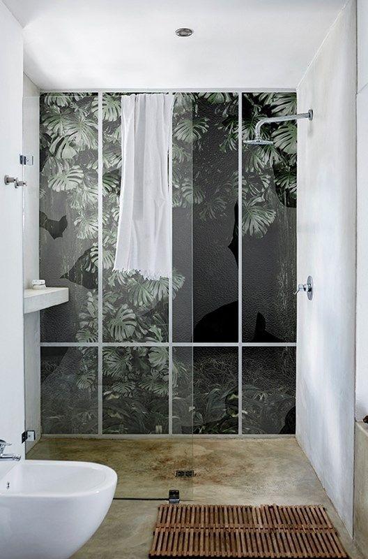 21++ Wall and deco papier peint salle de bain ideas in 2021
