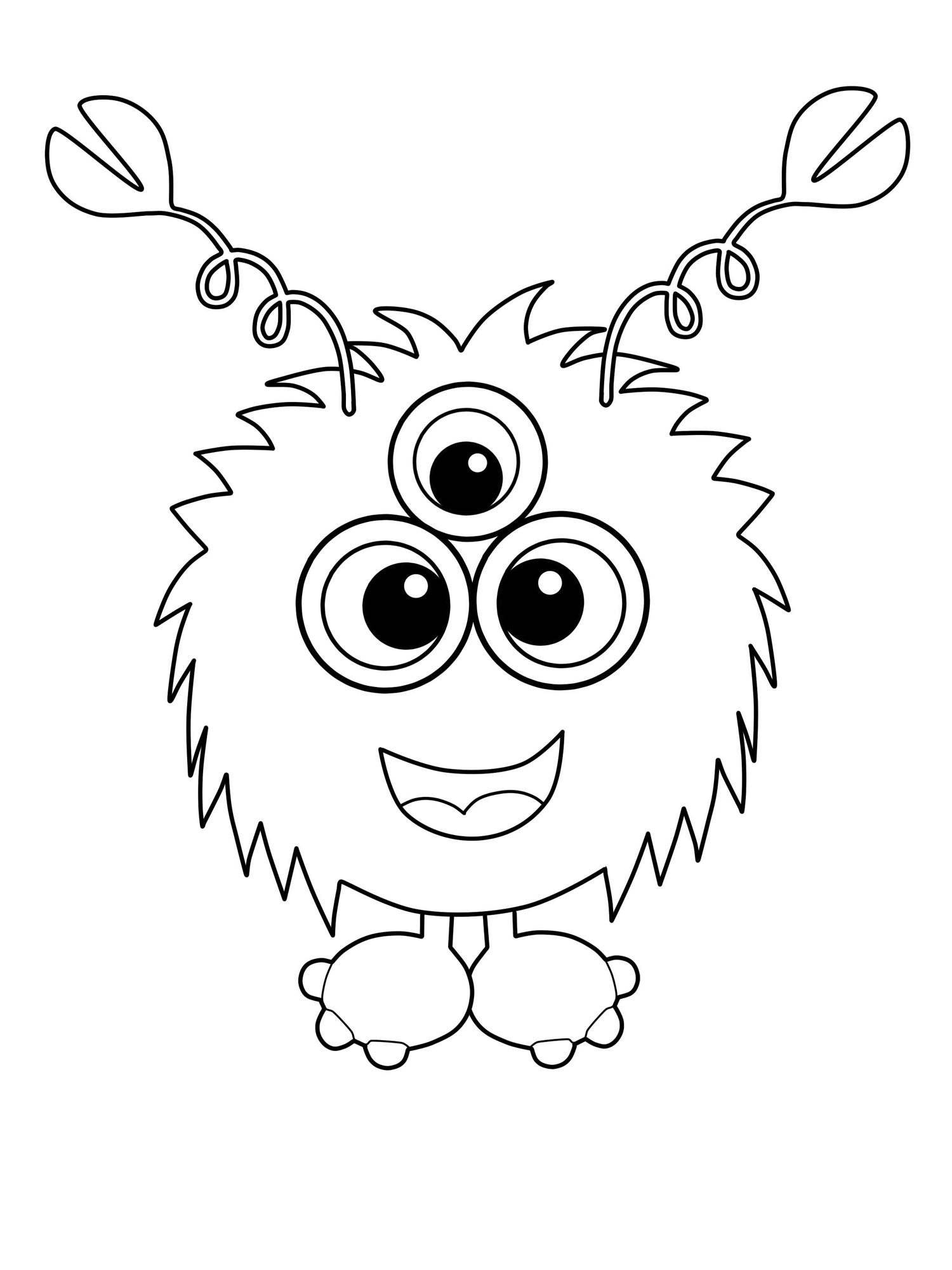 Monster Malvorlagen Kostenlos Http Www Ausmalbilder Co Monster Malvorlagen Kostenlos Monster Coloring Pages Monster Drawing Coloring Books