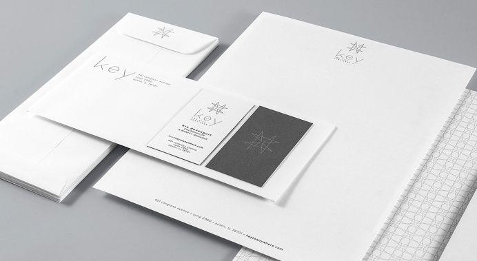 #logo #papersystem #greyscale #modern #geometric in Identity Design