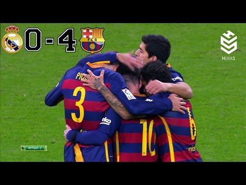 Real Madrid Vs Barcelona 0 4 All Goals And Full Highlights English Commentary 21 11 2015 Hd Youtube Real Madrid Goles Youtube
