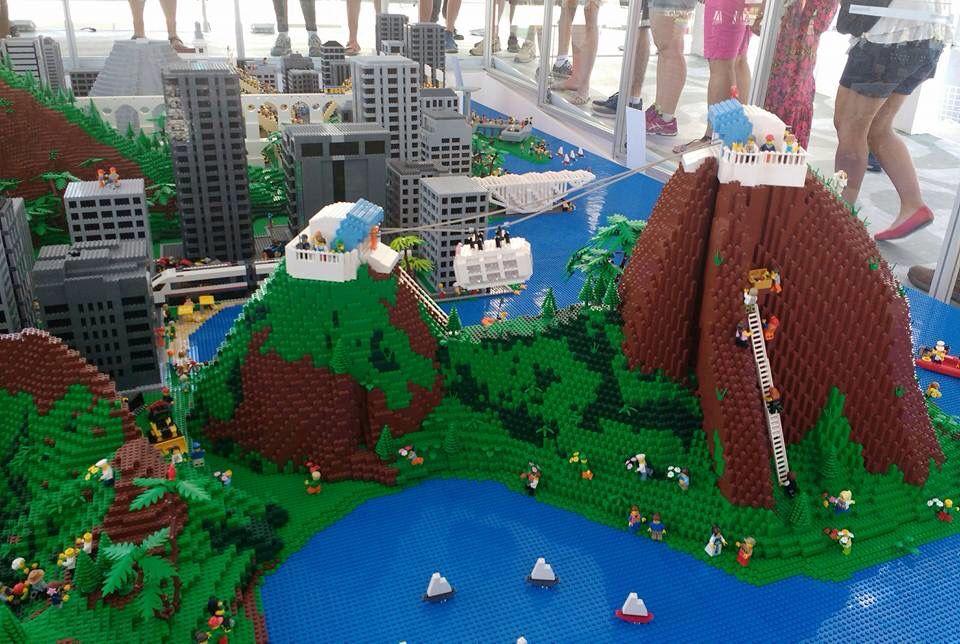 Rio de Janeiro built with lego