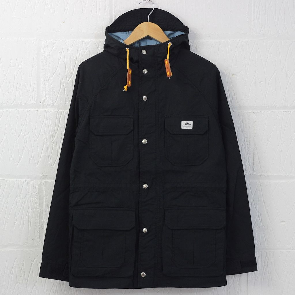Penfield Kasson Bonded Mountain Parka Black Blue New Entry Clothing Penfield Kasson Outerwear Hudson Newentrystore Penfield Kasson Penfield Clothes