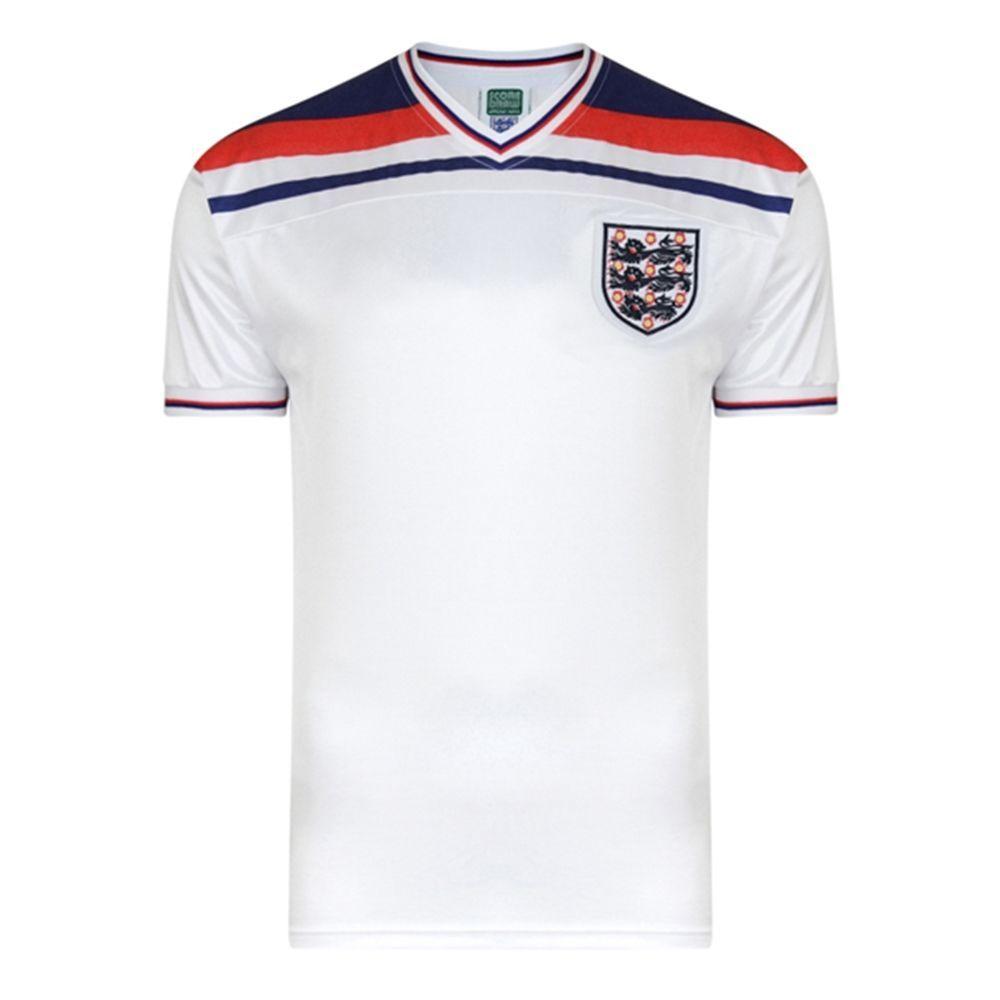 England 1982 World Cup Final Shirt M Ebay Retro Football Shirts 1982 World Cup World Cup Shirts