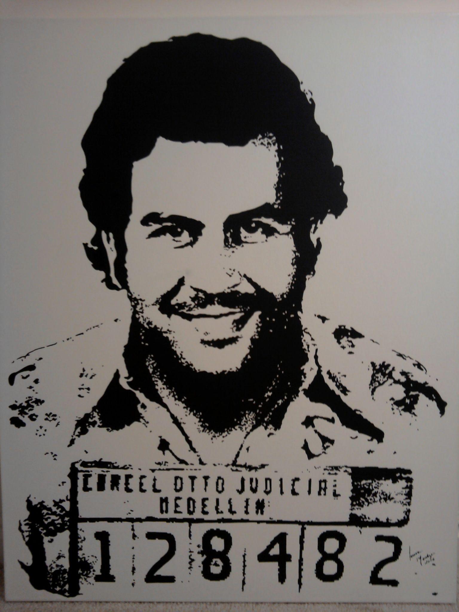 22+ Pablo Escobar Cartoon Face Images