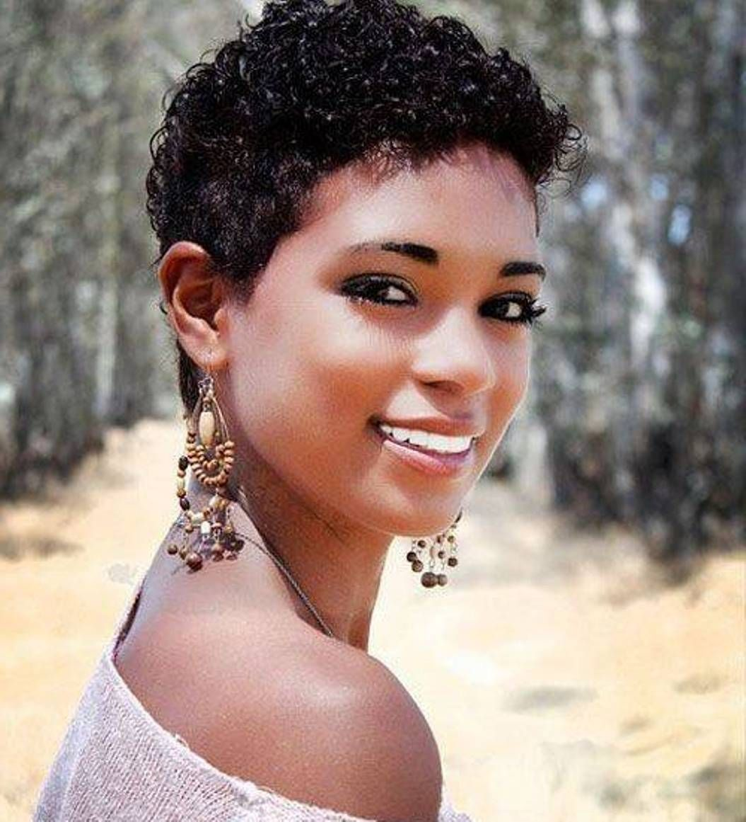 Phenomenal 1000 Images About Hair Styles On Pinterest Short Natural Short Hairstyles Gunalazisus