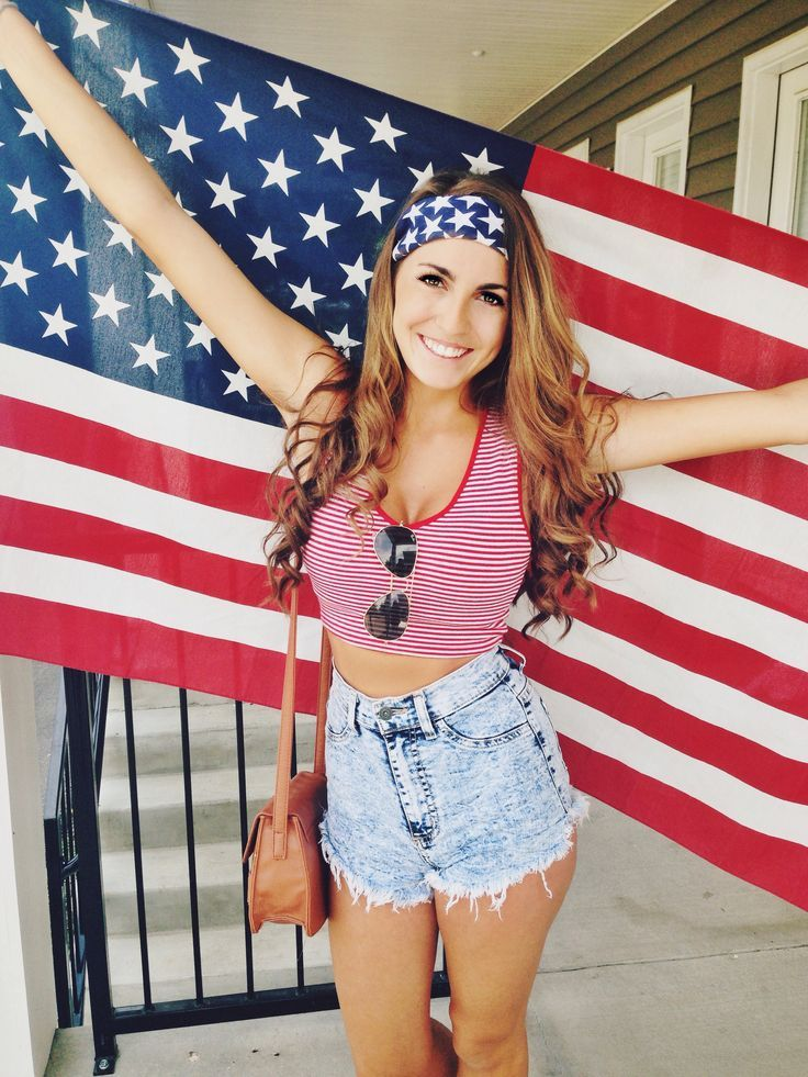 25 Chic Outfits to Try this 4th of July Street styles Street and