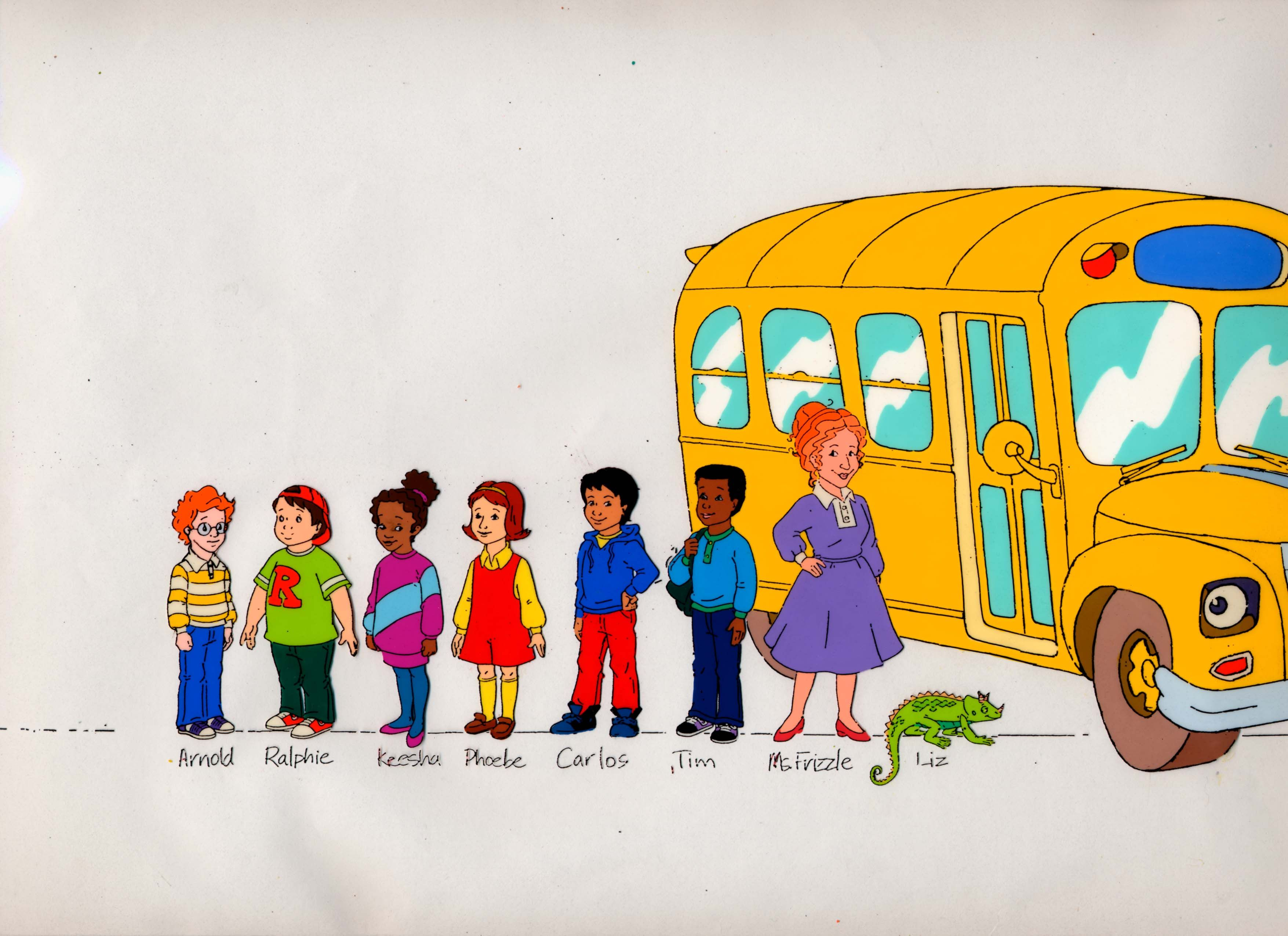 magic school bus cast - Google Search | Birthday number 4 (ideas ...