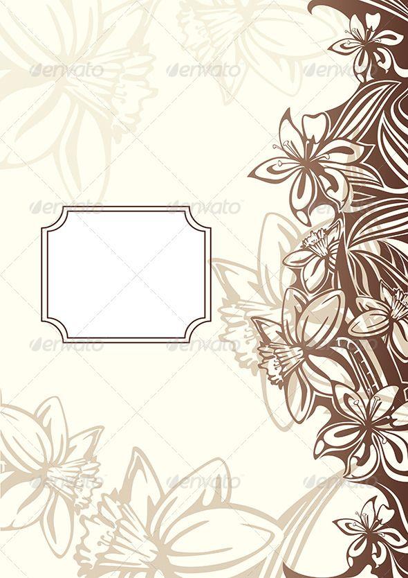 Abstract Floral Frame Abstract Floral Abstract Stationary Art