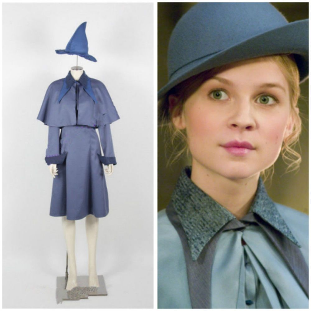 NEW Fleur Delacour Cosplay Costume include hat Full set custom