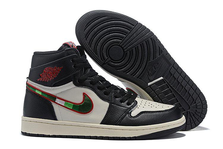 Air Jordan 1 Retro High Og Sports Illustrated Black Varsity Red