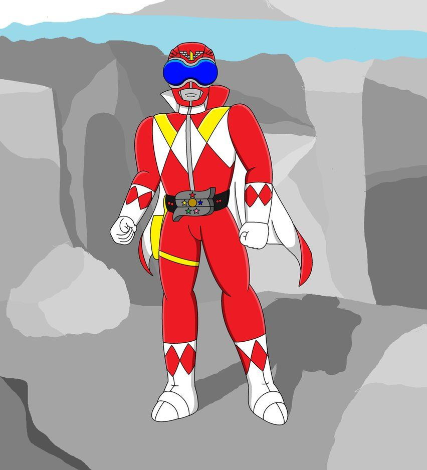 Well, this is a random idea. Yeah I thought about Goranger being the ...