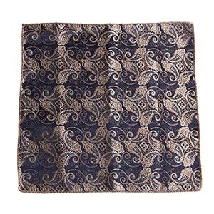 Chic Men Satin Solid Floral Pocket Square Plain Handkerchief Formal Suits Paisley Party Floral Hanky 23cm 9 Pattern #pocketsquares