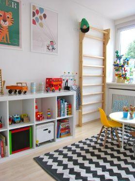 die sprossenwand leben mit kindern kinderzimmert del t pinterest kinderzimmer. Black Bedroom Furniture Sets. Home Design Ideas