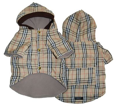 Burberry Dog Jacket Spencer And Katie Need These Luxury Dog Clothing Dog Clothes Dog Winter Clothes