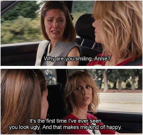 Bridesmaids, what a classic.