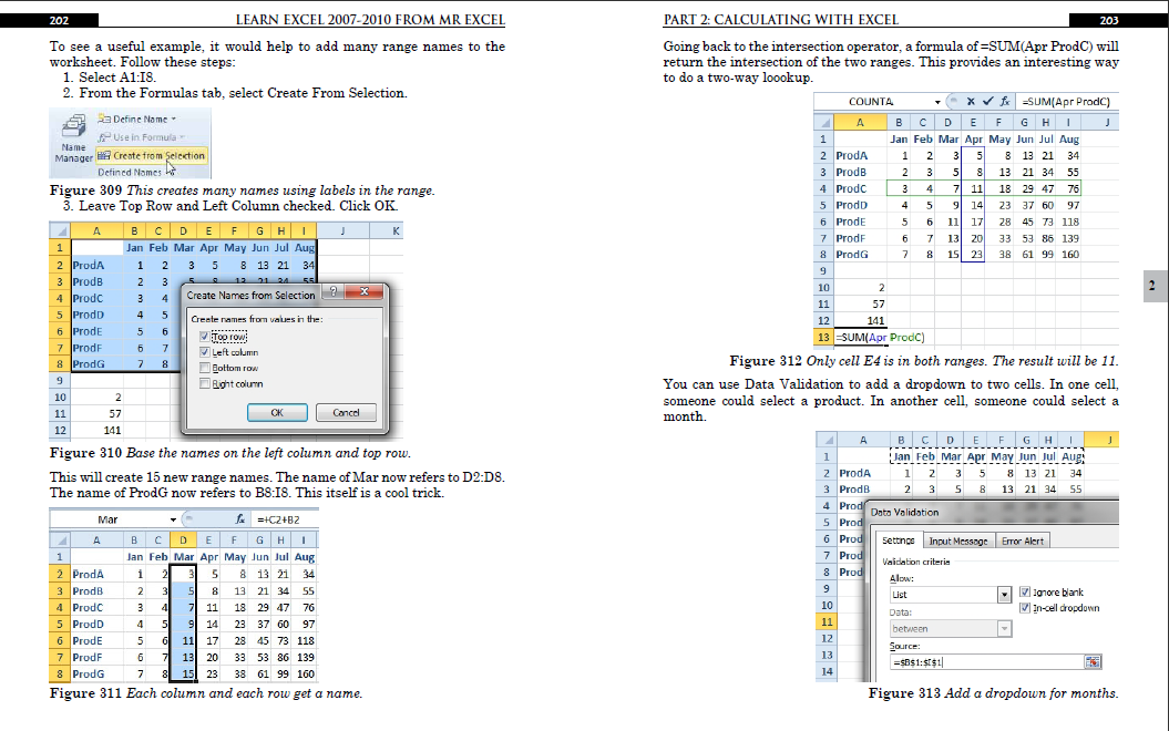 Learn Excel 2010 from MrExcel Book (With images) Excel