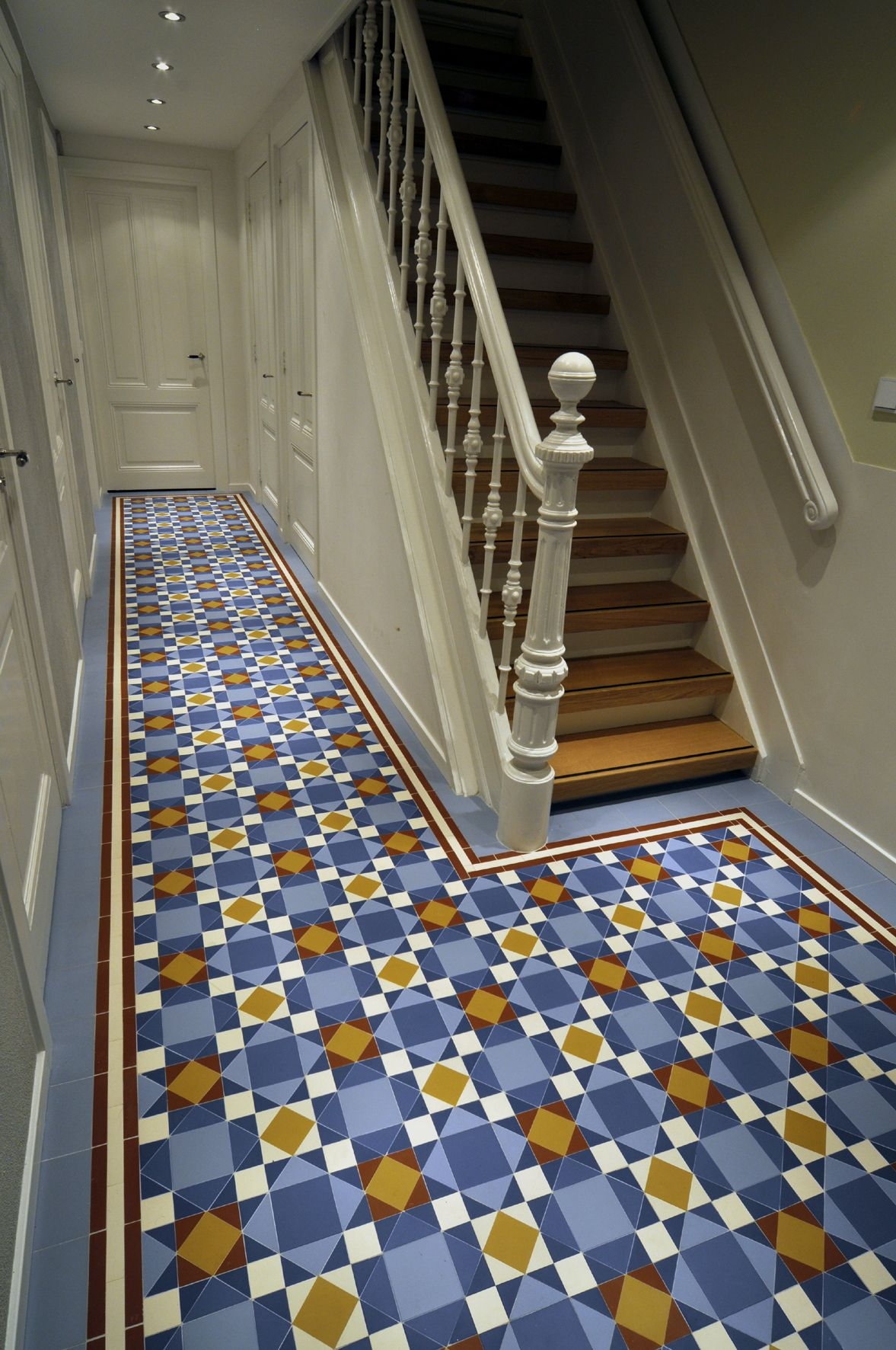 Flooring Ideas For Stairs Winckelmans Brighton Victorian Style Tiles In Amsterdam
