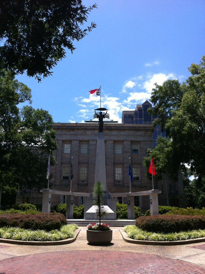 One of the most historic buildings in Raleigh, which