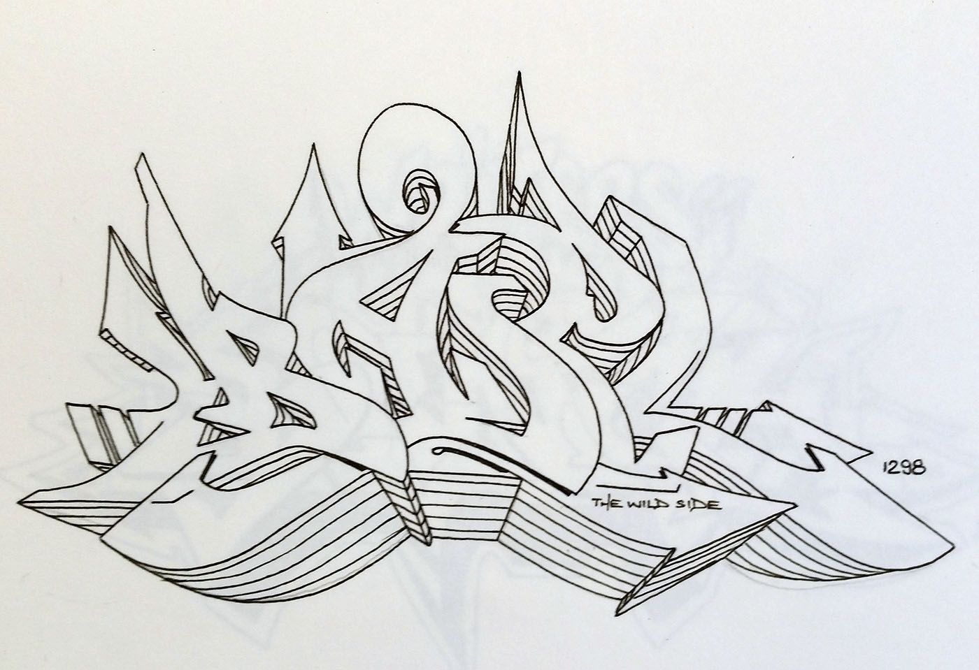 Sketches DARE (With images) Graffiti lettering