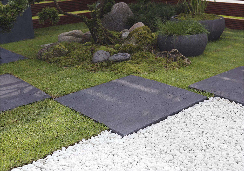 Un Jardin Mineral Avec Pas Japonais Amenagement Jardin