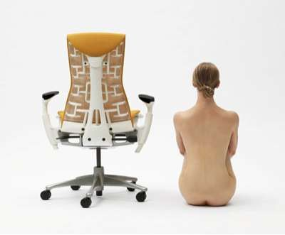 Desk Chairs With Bony Spines. Herman MillerDesk ...