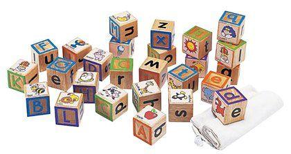 Wonderworld ABC touchy blocks