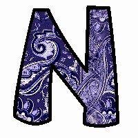 Alfabeto con texturas en fondo azul. | Oh my Alfabetos!
