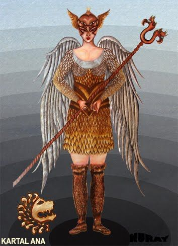 Nazmi Kisioglu Adli Kullanicinin Turk Mitolojisi Panosundaki Pin