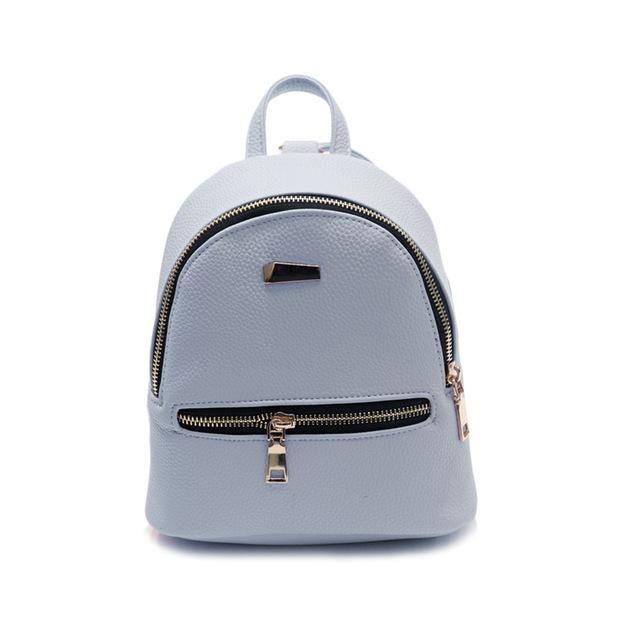 17be338afa 2017 Fashion Women PU Leather Backpack Mini Teenager Girls Travel Shopping  Backpacks Popular