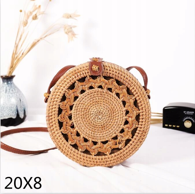 Hit 2019 Trebka Boho Ratan Rozne Modele Wiklinowa 8252177993 Oficjalne Archiwum Allegro Rattan Bag Bags Small Bags