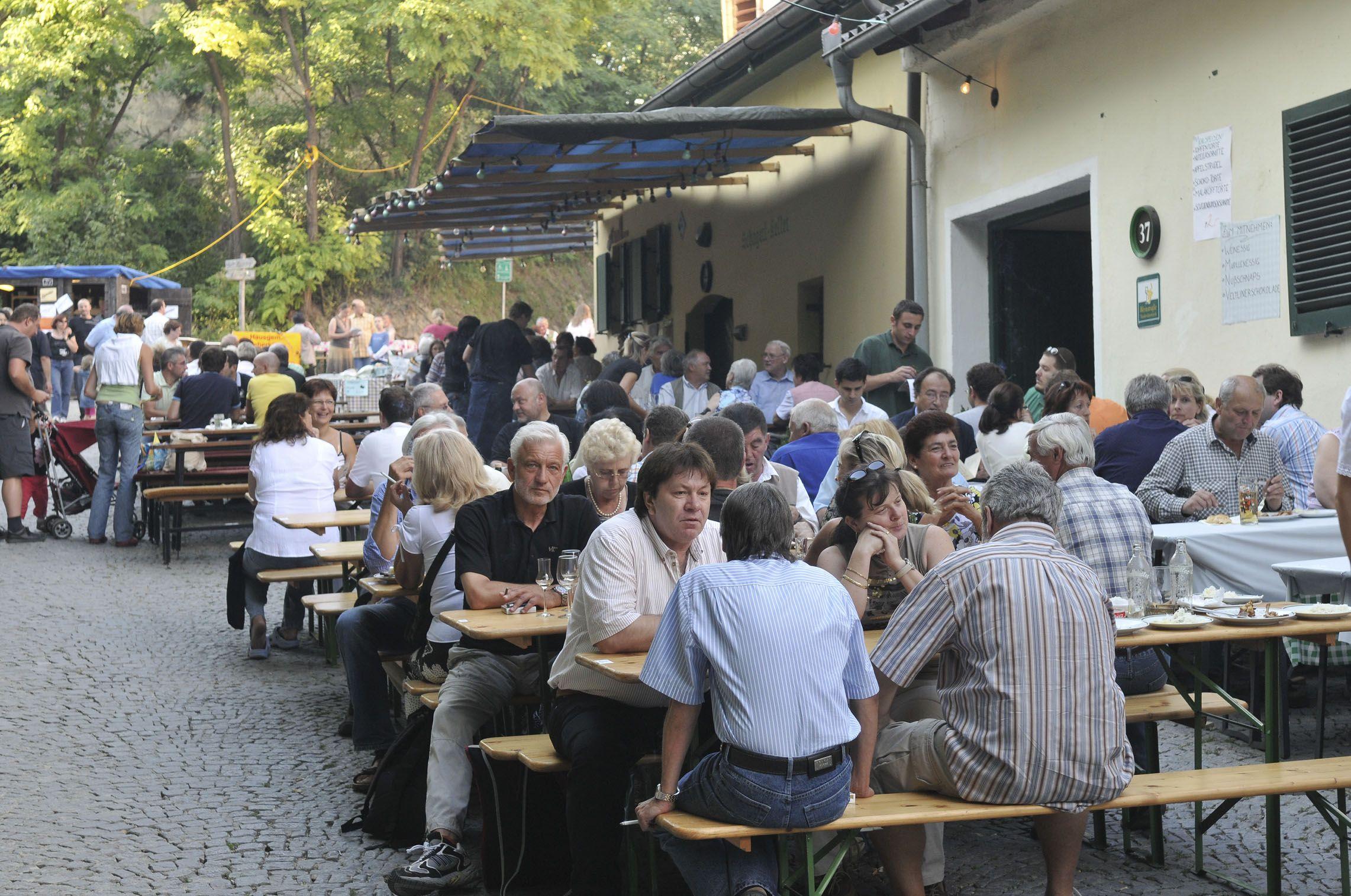 #weinherbst in Niederösterreich - Im Weinherbst Niederösterreich laden rund 100 Gemeinden Weinkenner und alle, die es noch werden wollen, zu einem gemütlichen Beisammensein ein. http://www.weinherbst.at   Copyright: Weinstraße Niederösterreich / Wolfgang Simlinger