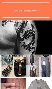 Photo of Tribal Drachentattoo für Männer #tattoosformen – #land tattoo for men – Styleb…