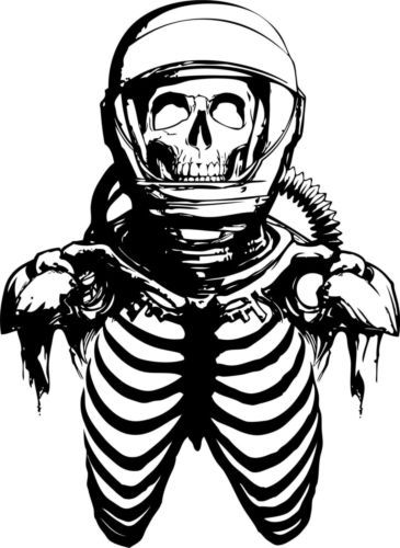 Zombie Astronaut Skeleton Skull Alien Car Boat Truck