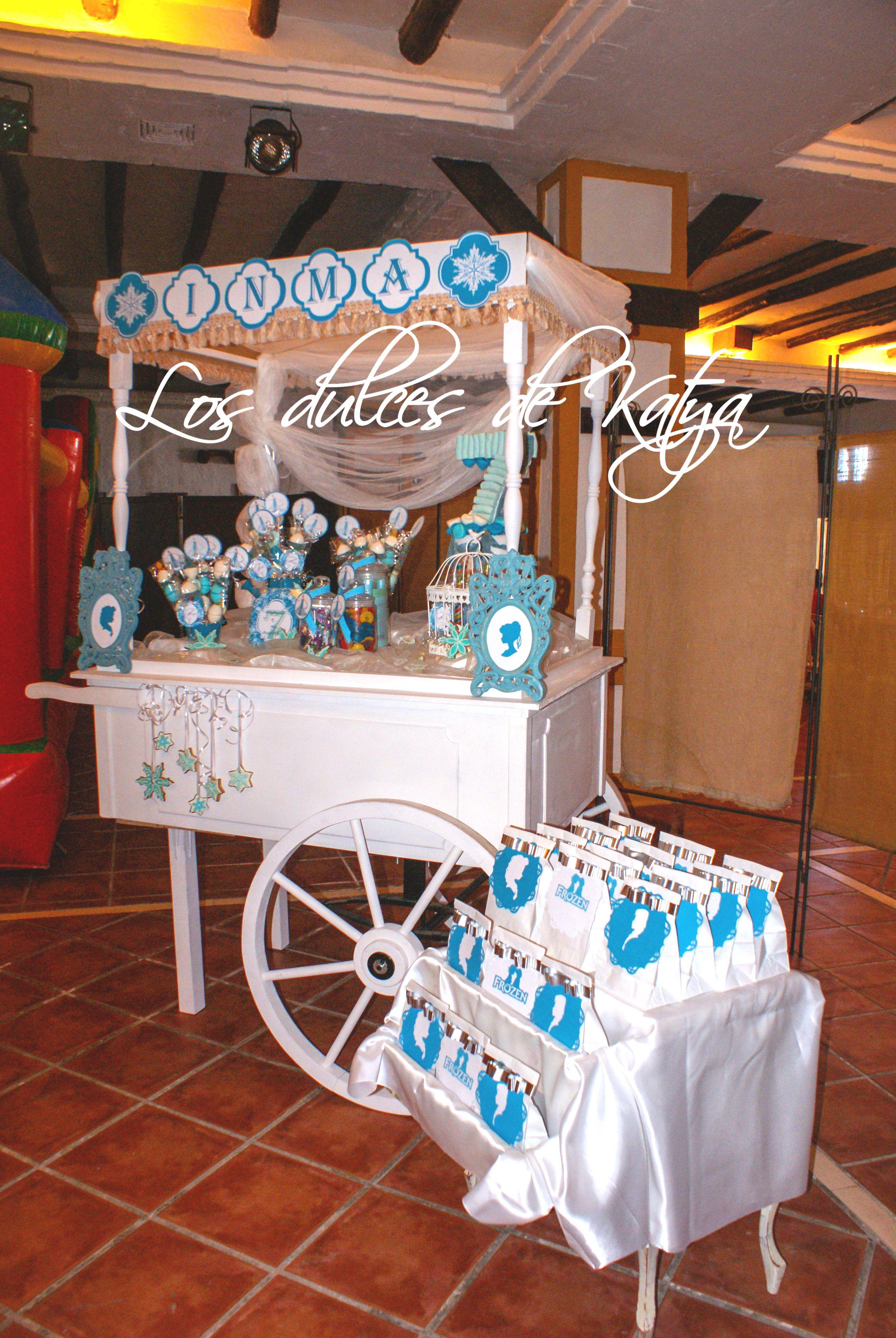 Carro de chuches m laga carrito de chuches frozen en - Carro de chuches para cumpleanos ...