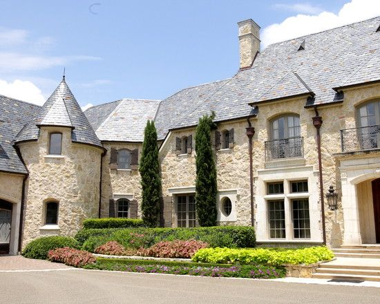 Elegant house design interior and exterior styles for French country style homes exterior