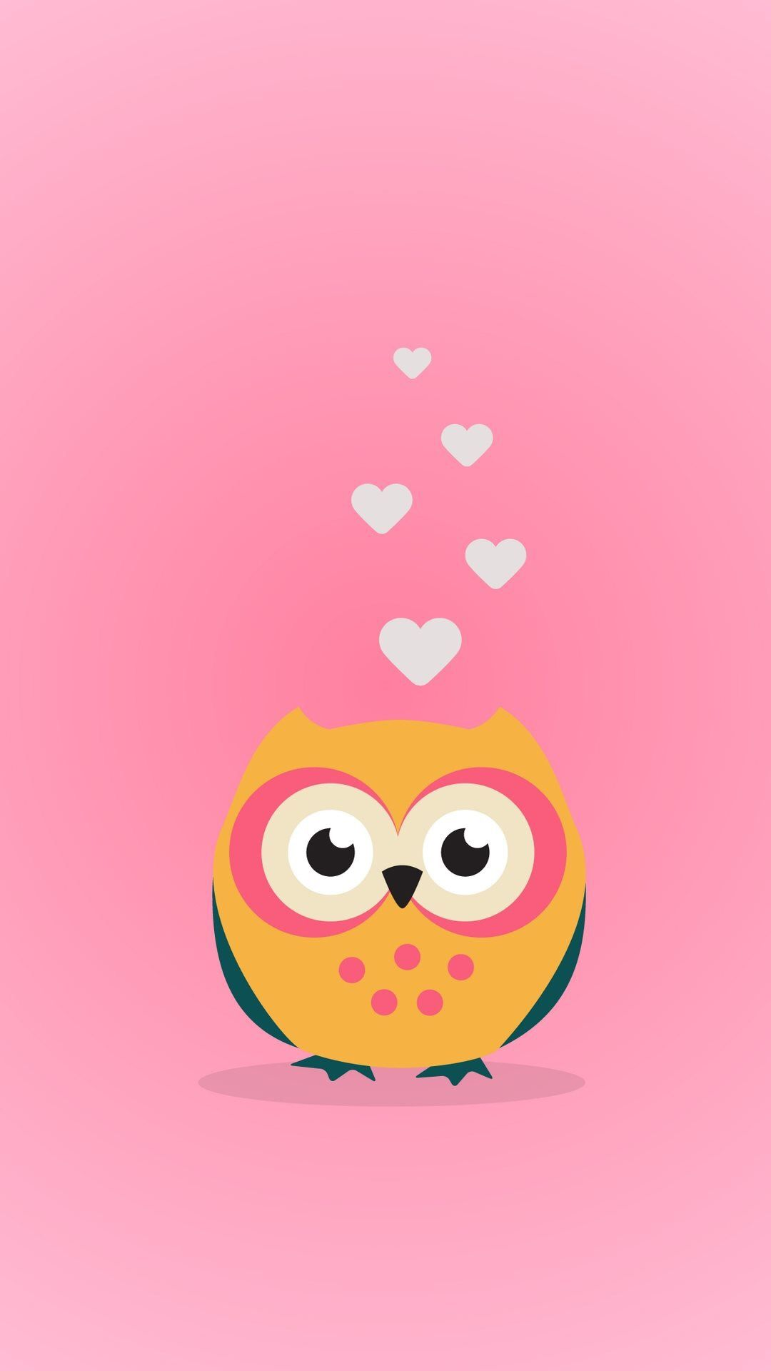 Owl Wallpaper Cute Iphone Wallpapers Owls Backgrounds Birds Pin Clementine On Jpg 1080x1920