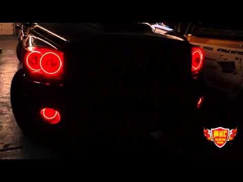 2006 Dodge Ram Multi Color Oracle Halo Headlights and Fog