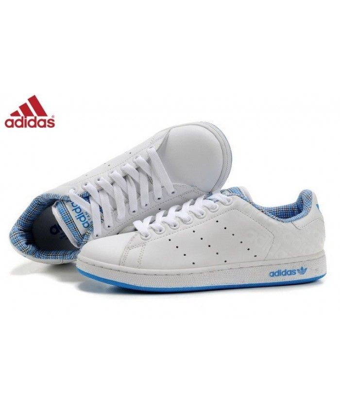 sneakers stan smith bleu et blanc
