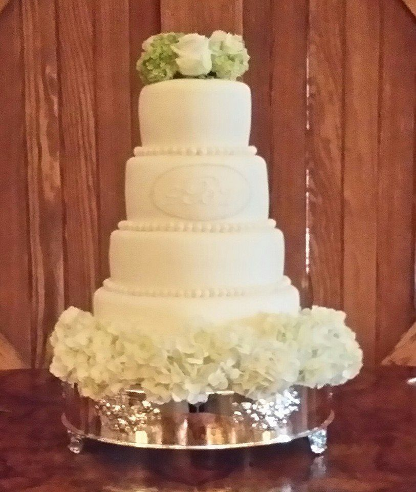 4 tier Wedding cake made by Coastal Confections located in Richmond ...
