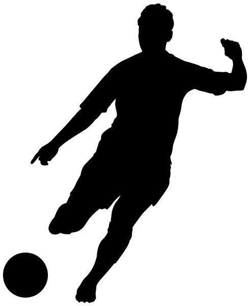 Soccer Girl Vector Art Clipart Panda Free Clipart Images Soccer Players Football Silhouette Soccer Silhouette